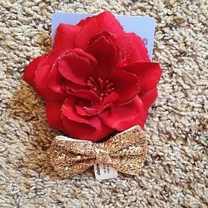 NWT Set of 2 Sparkly Hair Clips